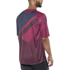 Endura SingleTrack T II LTD Short Sleeve Jersey Men mulberry